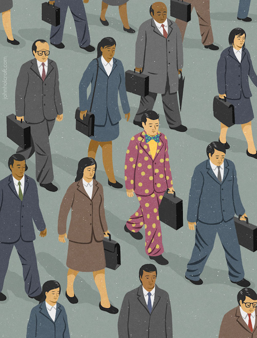 Retro Style Thought Provoking Illustrations by John Holcroft - 22