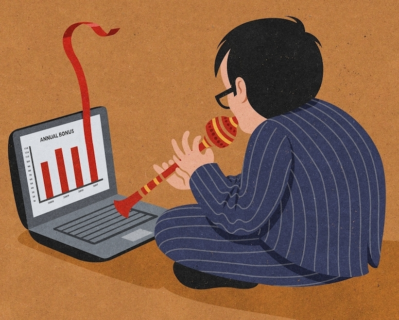 Retro Style Thought Provoking Illustrations by John Holcroft - 23