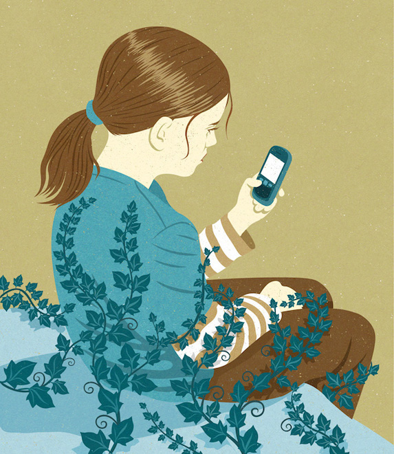 Retro Style Thought Provoking Illustrations by John Holcroft - 27