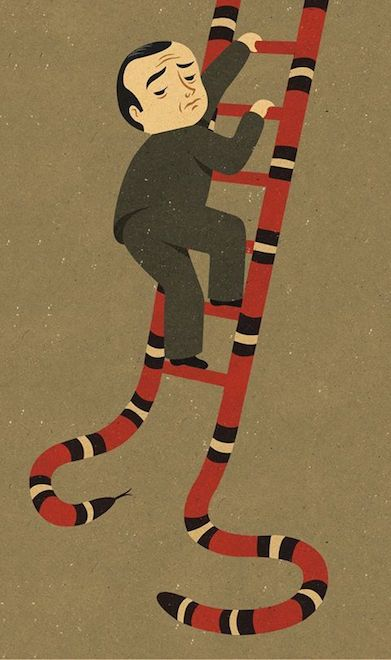 Retro Style Thought Provoking Illustrations by John Holcroft - 29