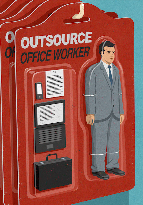 Retro Style Thought Provoking Illustrations by John Holcroft - 3