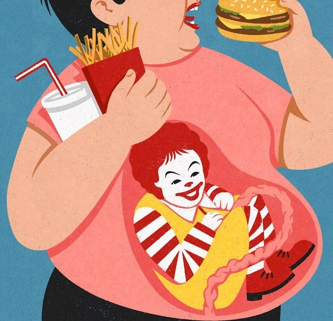 Retro Style Thought Provoking Illustrations by John Holcroft - 6