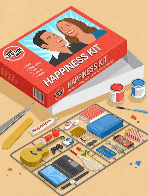 Retro Style Thought Provoking Illustrations by John Holcroft - 7