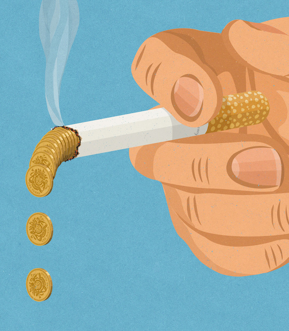 Retro Style Thought Provoking Illustrations by John Holcroft - 8