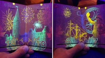 Canada's New Passport Is The Coolest In The World, Just Look At These Ultraviolet Artworks