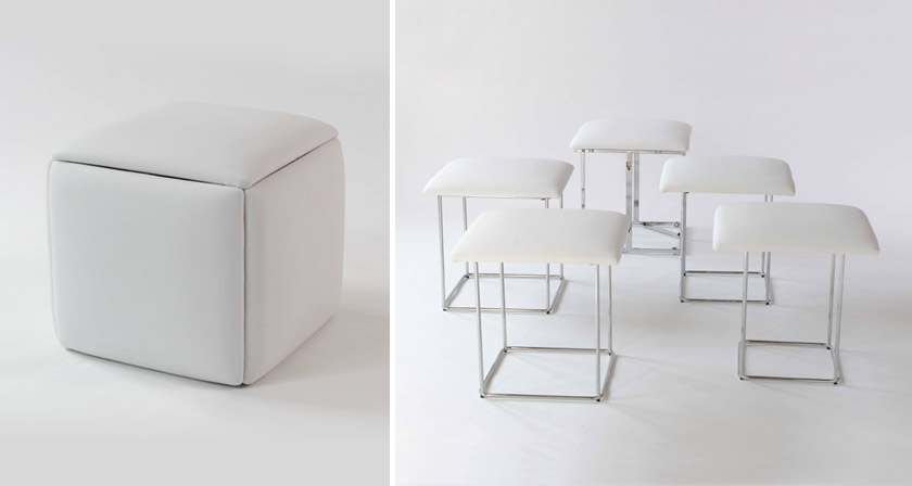 These space saving furniture designs are amazingly creative - Space saving office furniture ...
