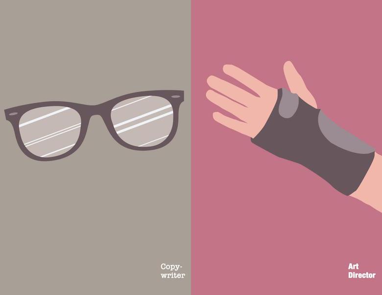 Copywriter vs. Art Director: As they get older