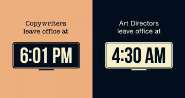 17 Clever Illustrations That Show The Differences Between Copywriters And Art Directors