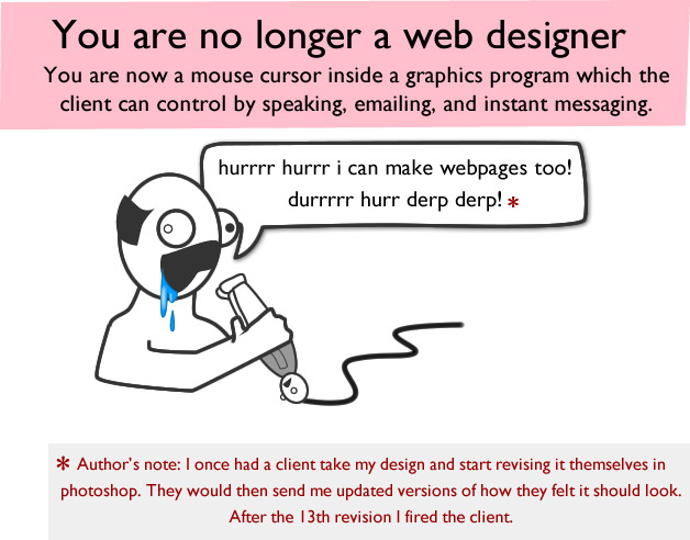 How A Web Design Goes Straight To Hell - 9