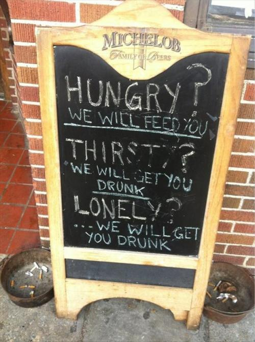 Funny Creative Bar Signs - 3