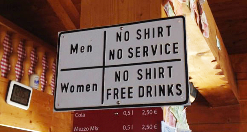 40 Funny And Creative Bar Signs That'll Make You Step In And