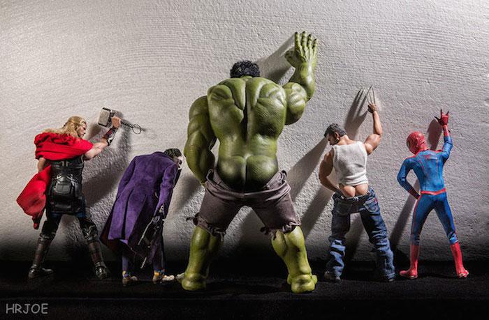 Superhero Action Figure Toys - Hrjoe Photography - 1