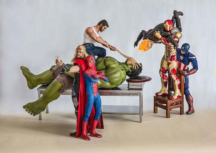 Superhero Action Figure Toys - Hrjoe Photography - 15