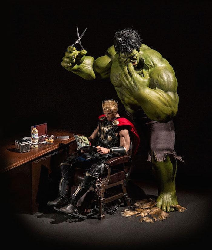 Superhero Action Figure Toys - Hrjoe Photography - 2