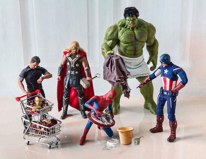 Superhero Action Figure Toys - Hrjoe Photography - 3
