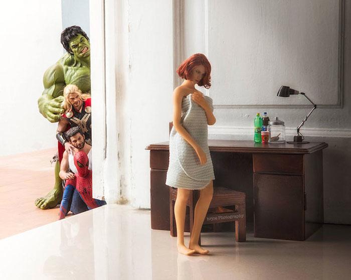 Superhero Action Figure Toys - Hrjoe Photography - 4