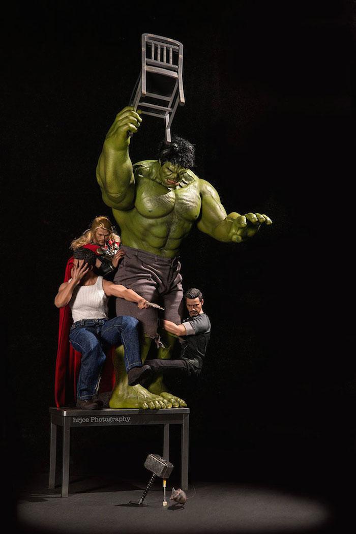 Superhero Action Figure Toys - Hrjoe Photography - 5