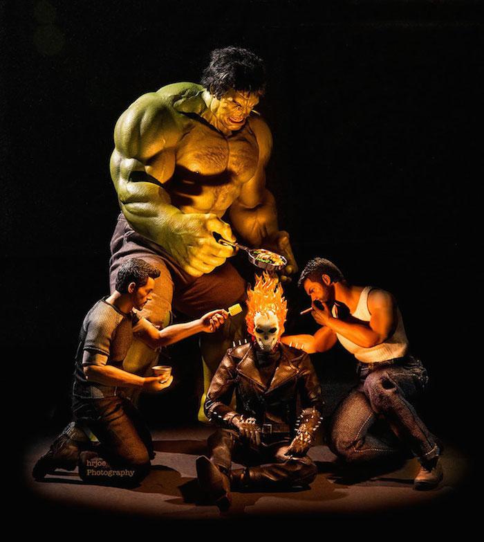 Superhero Action Figure Toys - Hrjoe Photography - 7