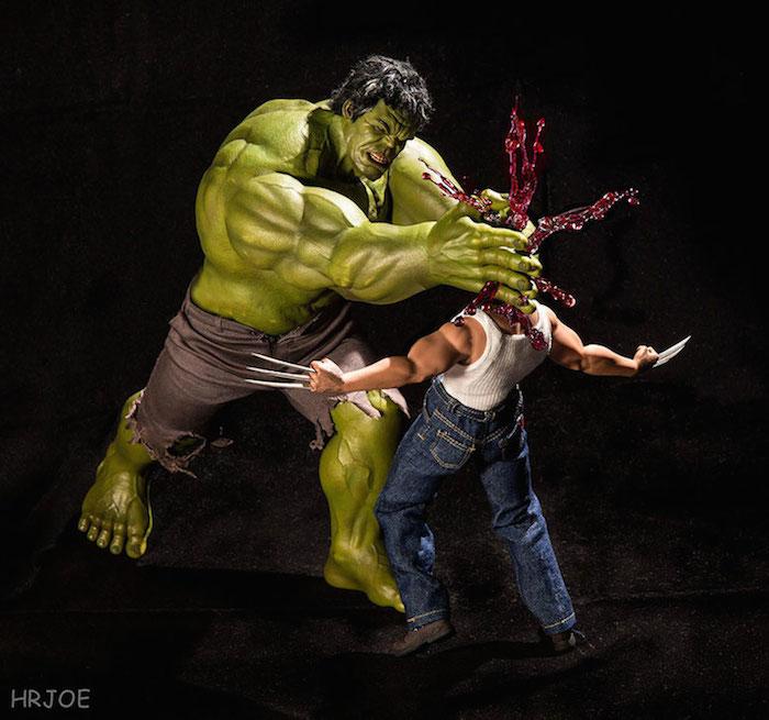 Superhero Action Figure Toys - Hrjoe Photography - 8