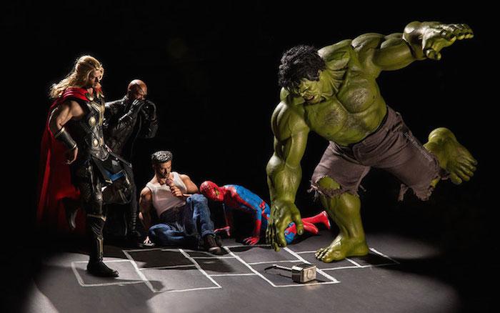 Superhero Action Figure Toys - Hrjoe Photography - 9