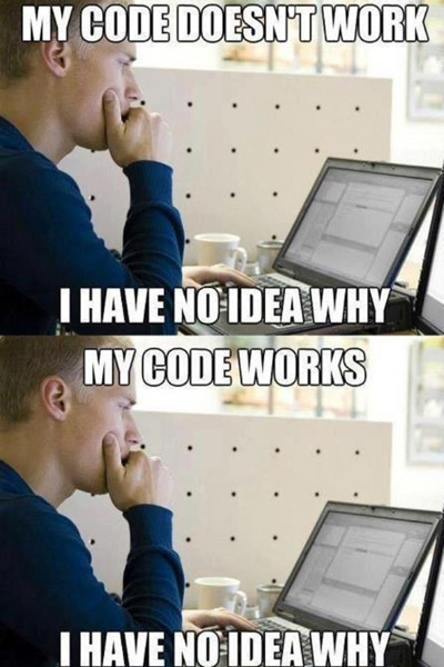 My code works, my code doesn't work - I have no idea why