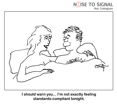 Noise to Signal - Im not feeling standard-compliant tonight