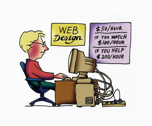 Web design rates per hour