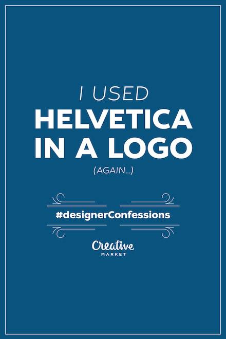 Designer Confessions - Helvetica Logo