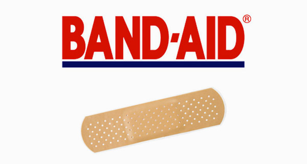 Band-Aid is a trademark used generically sometimes