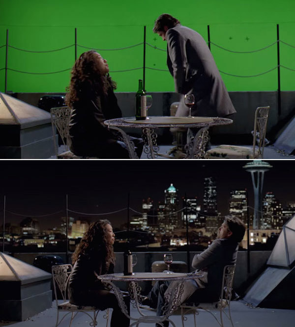 Grey's Anatomy: Before and after green screen + CGI