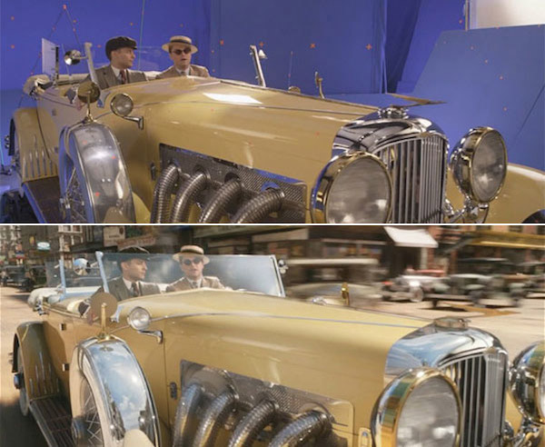 The Great Gatsby: Before and after green screen + CGI (2)