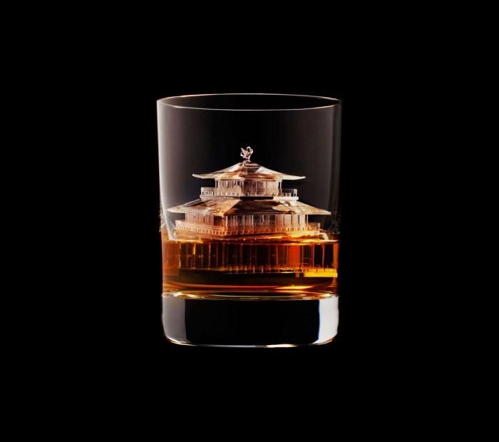 Suntory Whisky - 3D On The Rocks - House