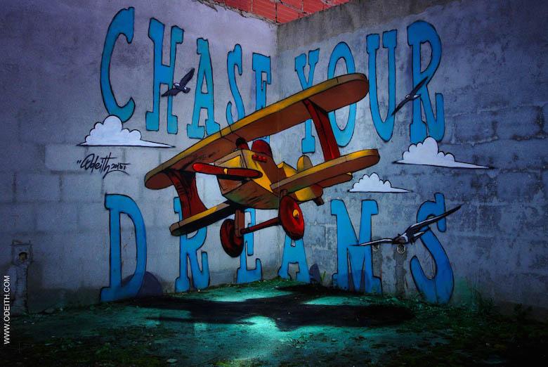 3D Anamorphic Art Graffiti Street - 17