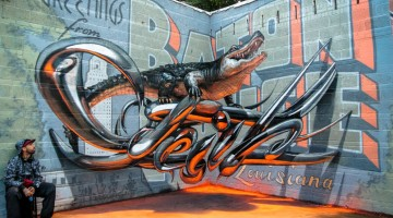 17 Amazing 3D Graffiti Artworks That Look Like They're Floating In Mid-Air