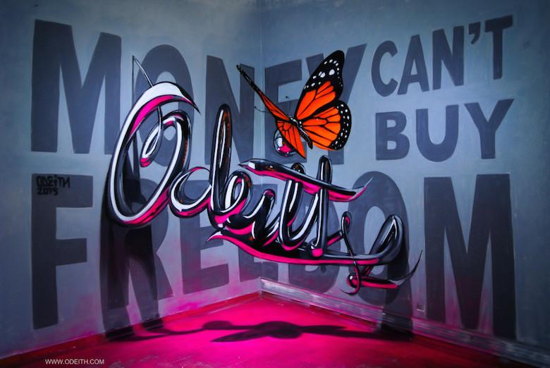 3D Anamorphic Art Graffiti Street - 9