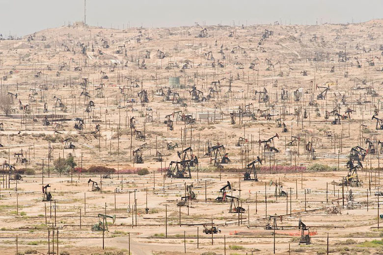 The Ken River Oil Field in California has been exploited since 1899