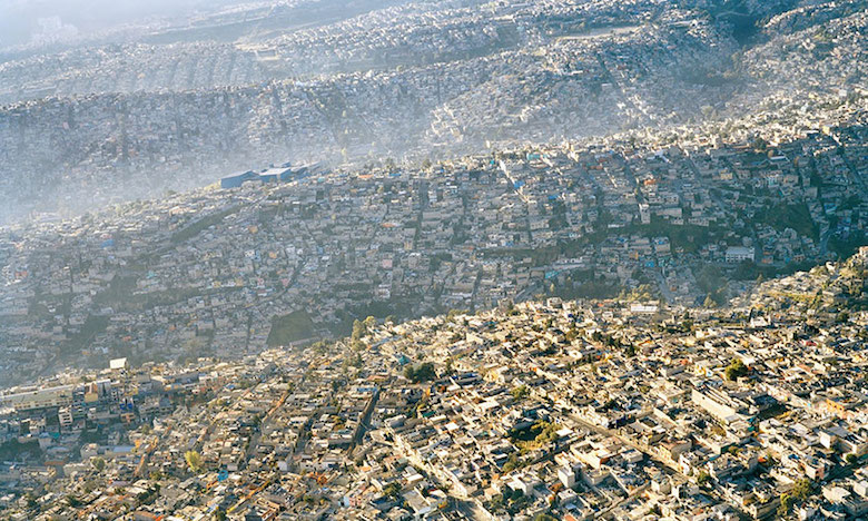 Home to over 20 million inhabitants, here's the landscape of Mexico City