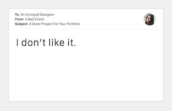 Terribly Funny Client Emails to Designers - 11