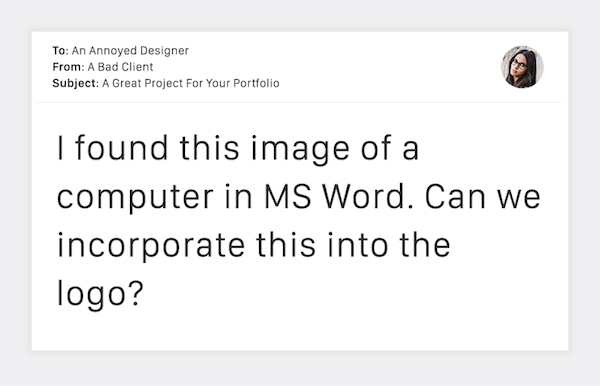 Terribly Funny Client Emails to Designers - 15
