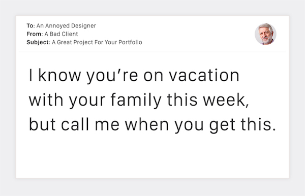 Terribly Funny Client Emails to Designers - 18