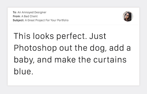 Terribly Funny Client Emails to Designers - 19