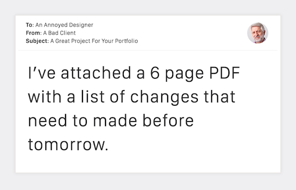 Terribly Funny Client Emails to Designers - 4