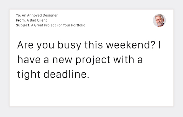 Terribly Funny Client Emails to Designers - 6