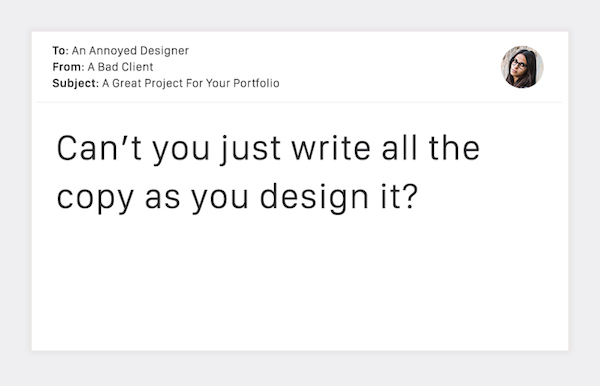 Terribly Funny Client Emails to Designers - 7