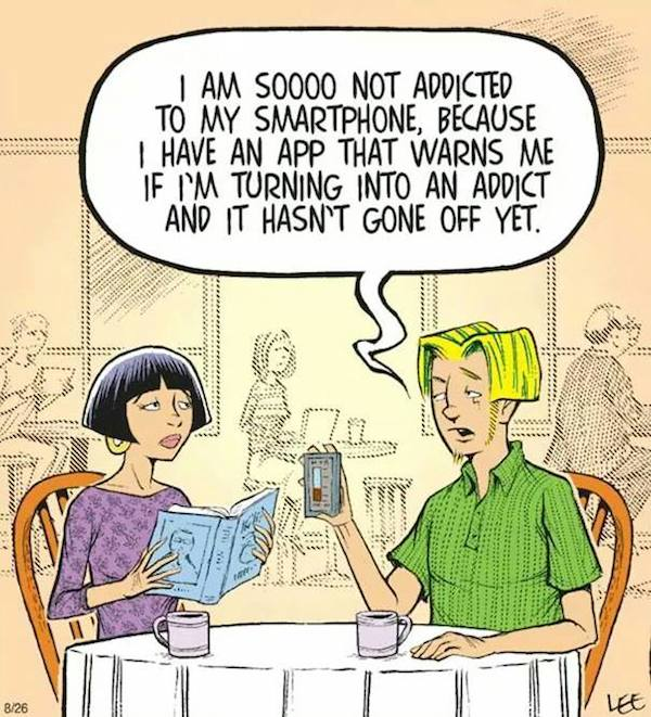 Smartphone Addiction: Funny But Sad - 12