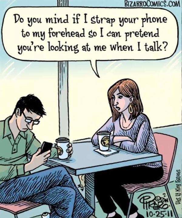 Smartphone Addiction: Funny But Sad - 16