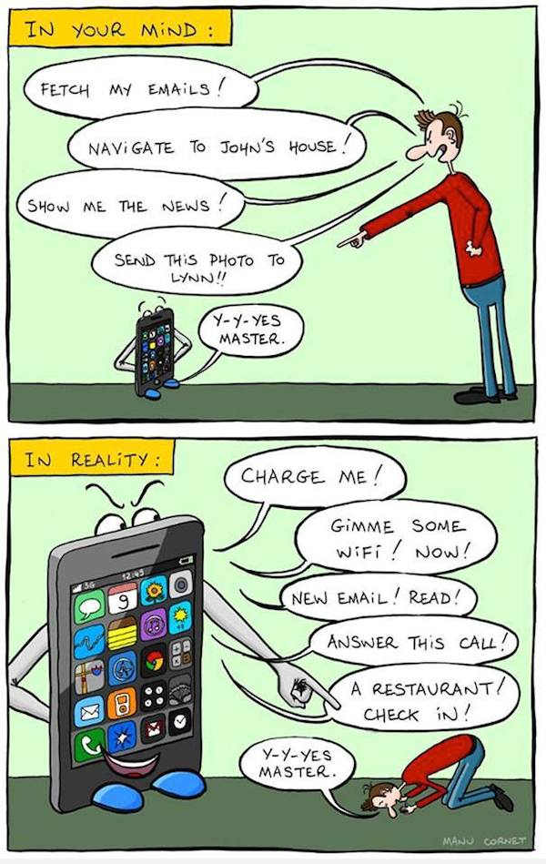 Smartphone Addiction: Funny But Sad - 6