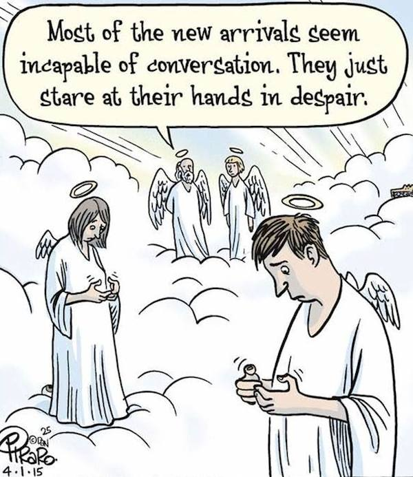 Image result for phone addiction comics