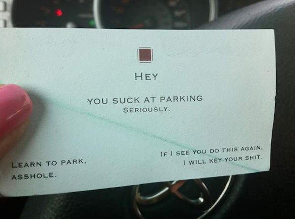 Funny Windshield Notes For Bad Parking - 15
