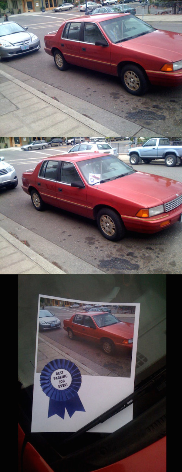 Names And Logos Of Cars >> 24 Creative Windshield Notes For Drivers Who Parked Horribly